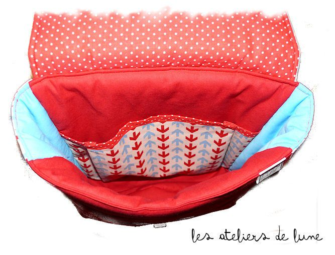 sac à dos pour la maternelle, la crèche : Décor FLECHES