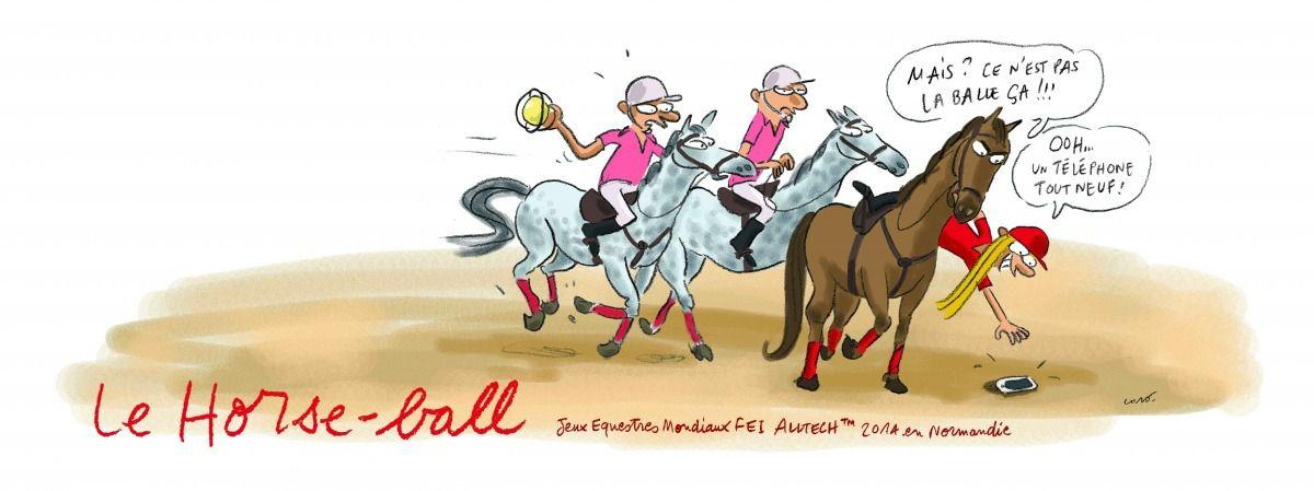 La horse ballite, maladie du siècle