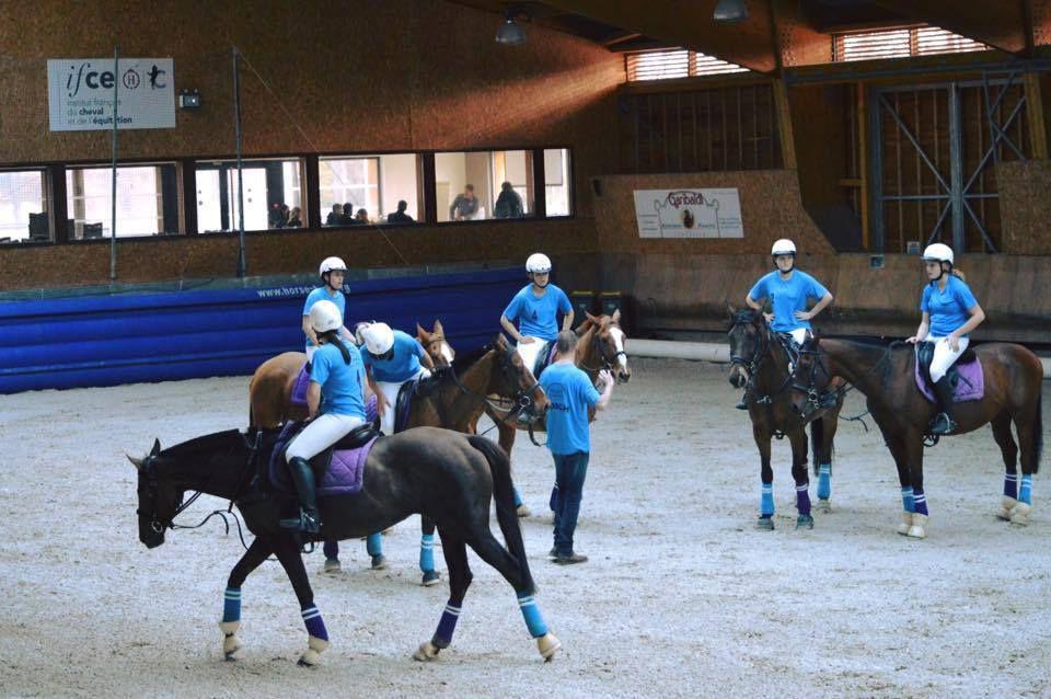 horse ball, aef, chazey 2016
