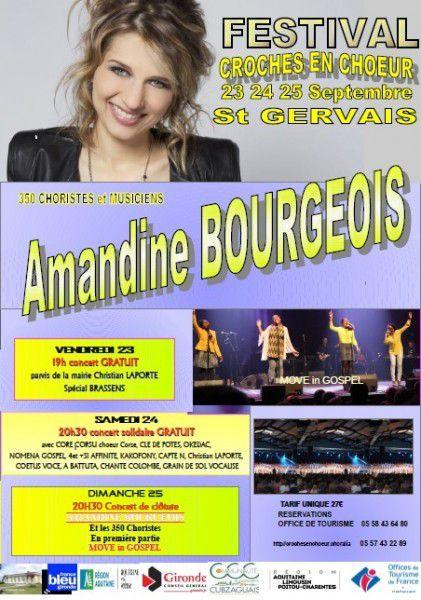 #amandine bourgeois, #croches en choeur, #saint gervais,