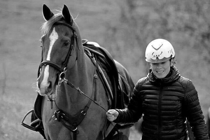 Cécile Pinquié, capitaine  de Bordeaux Blanquefort Horse Ball