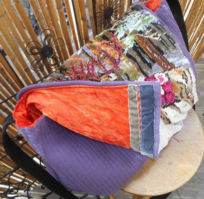 Couture - custo - créa  pour un sac besace