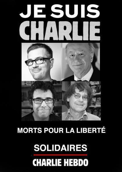 Horreur et tristesse  absolues : je suis Charlie