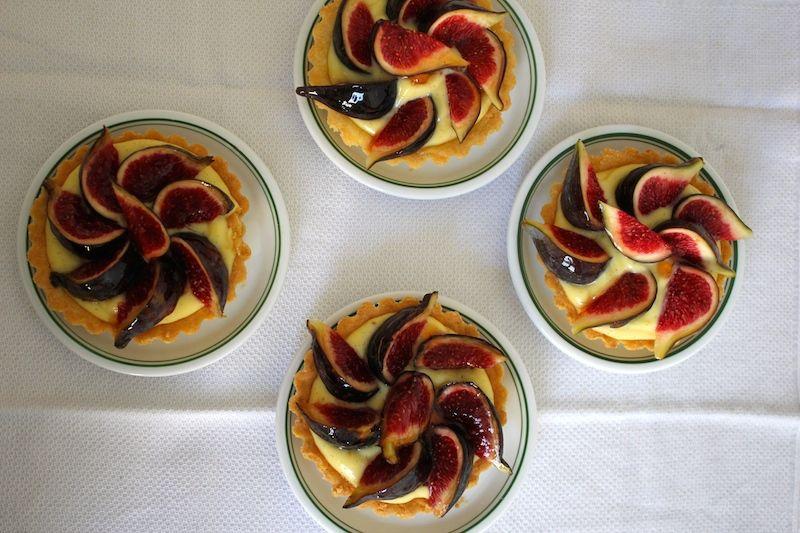Tartelettes aux figues sans gluten