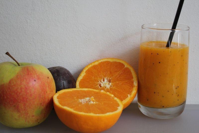 Un jus multi vitaminé pour bien démarrer la journée !