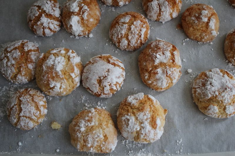 Biscuits aux amandes : Ghriyba