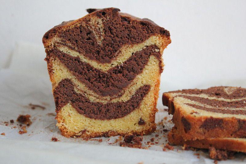 Marbré chocolat -vanille  sans gluten