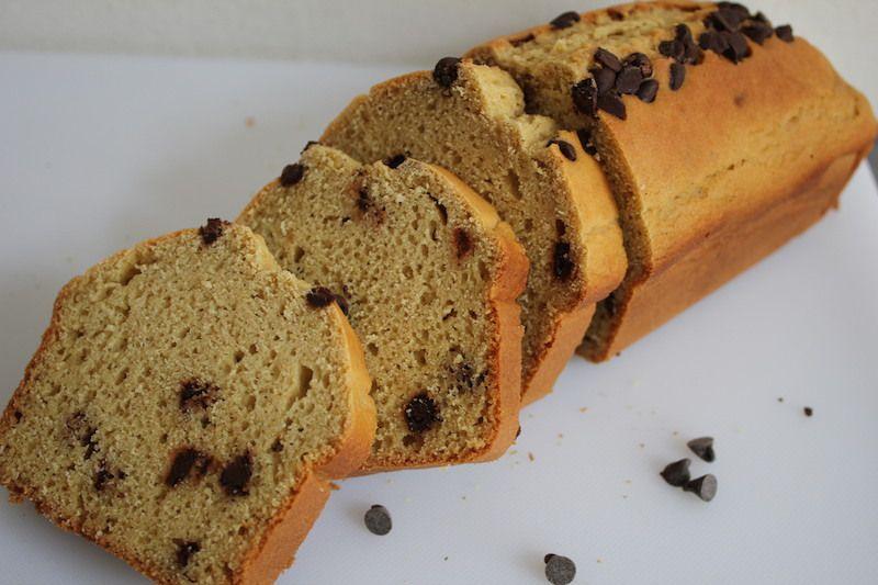 Pain-cake sans gluten