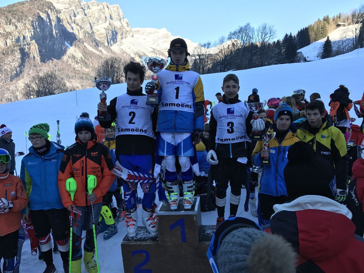 Malo, 3e du slalom