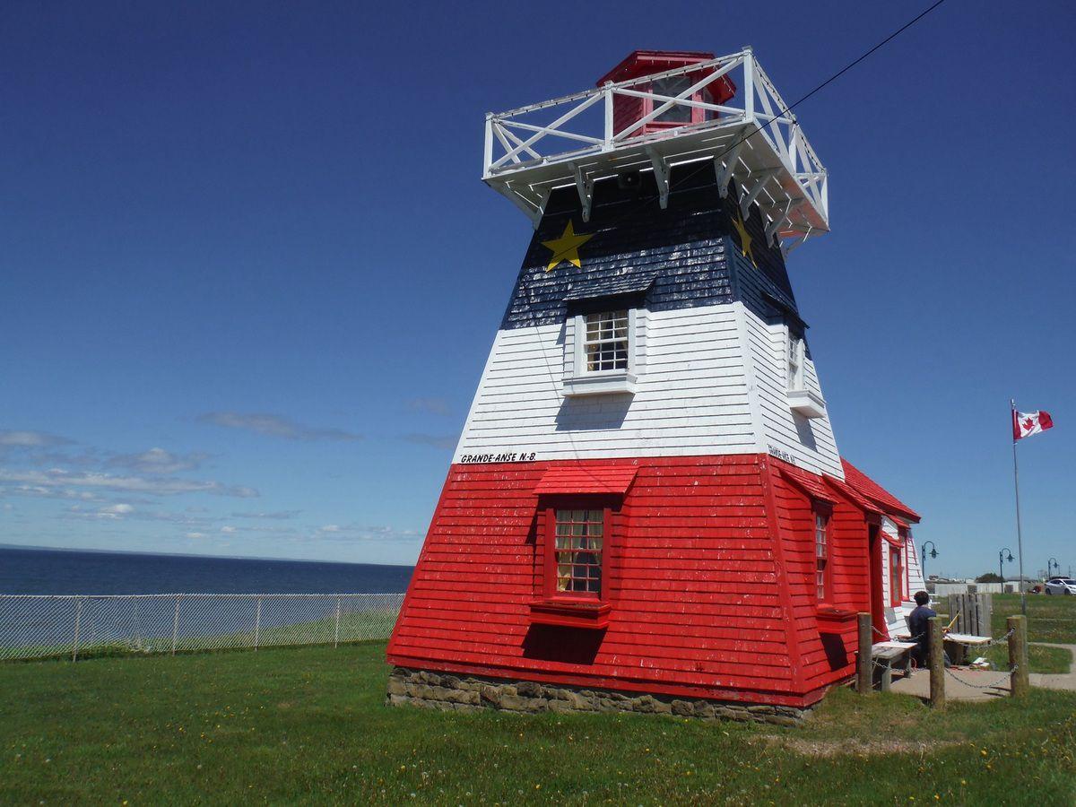 Phare en Acadie