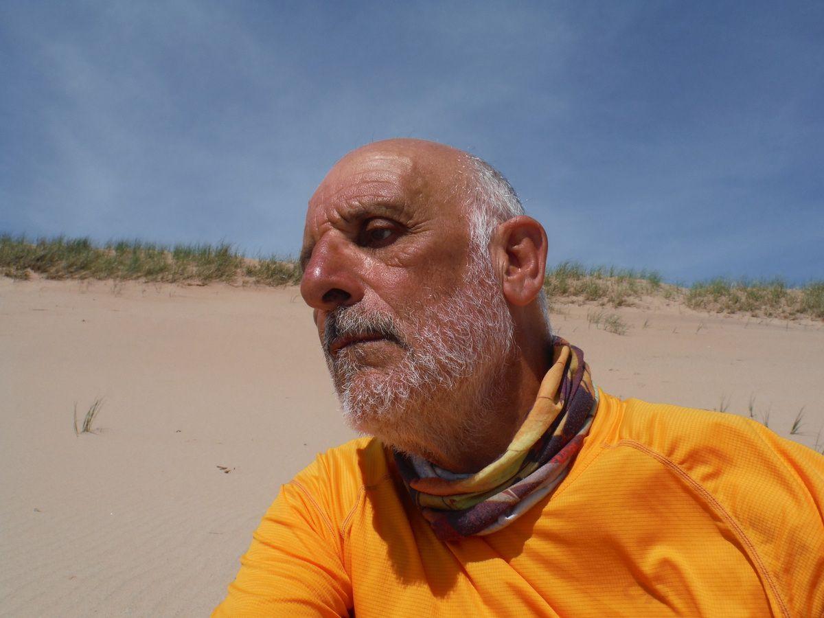 Sur la dune dite de la Martinique