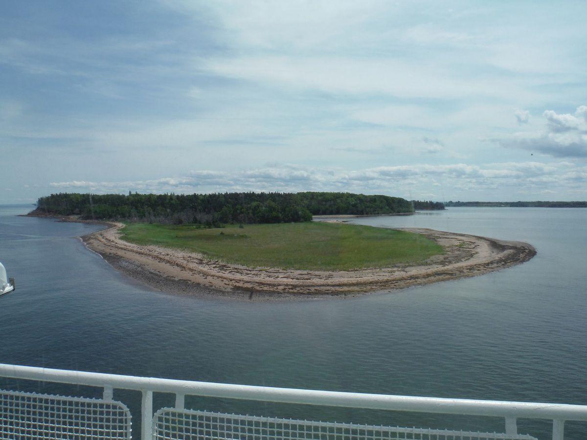 Bateau entre l'île du Prince Edward et la Nouvelle Écosse