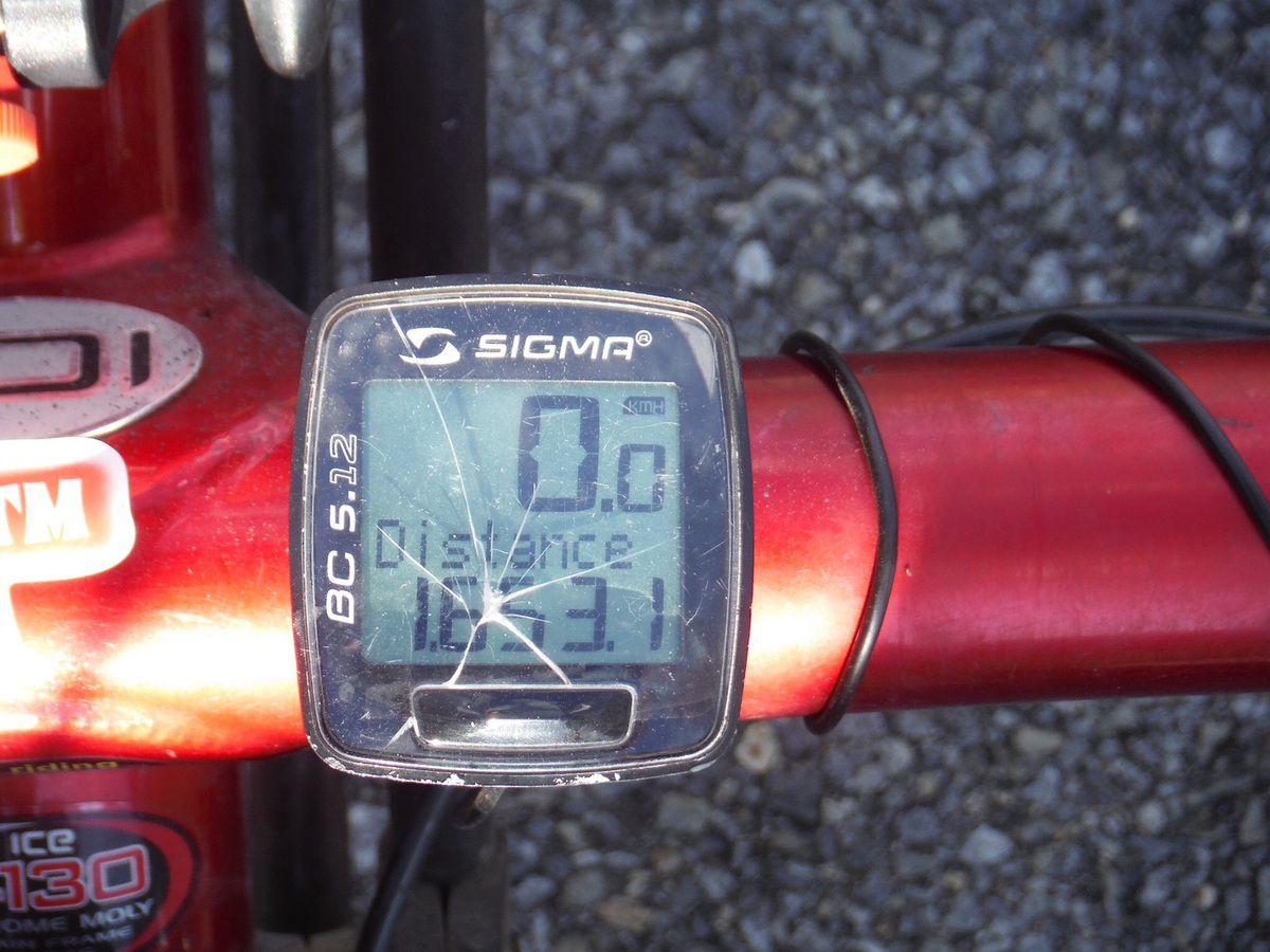1653 km... Fin du voyage Windsor- Montréal
