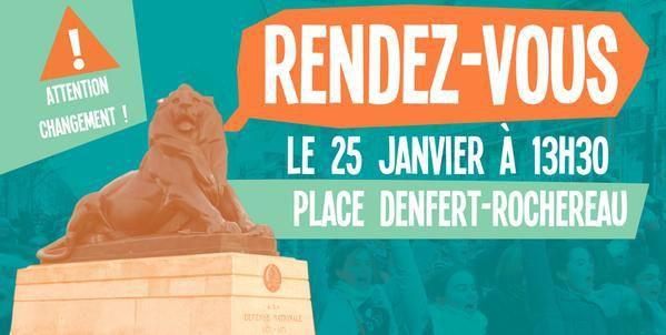 MARCHE POUR LA VIE 2015 : ATTENTION CHANGEMENT DU LIEU DE RENDEZ-VOUS