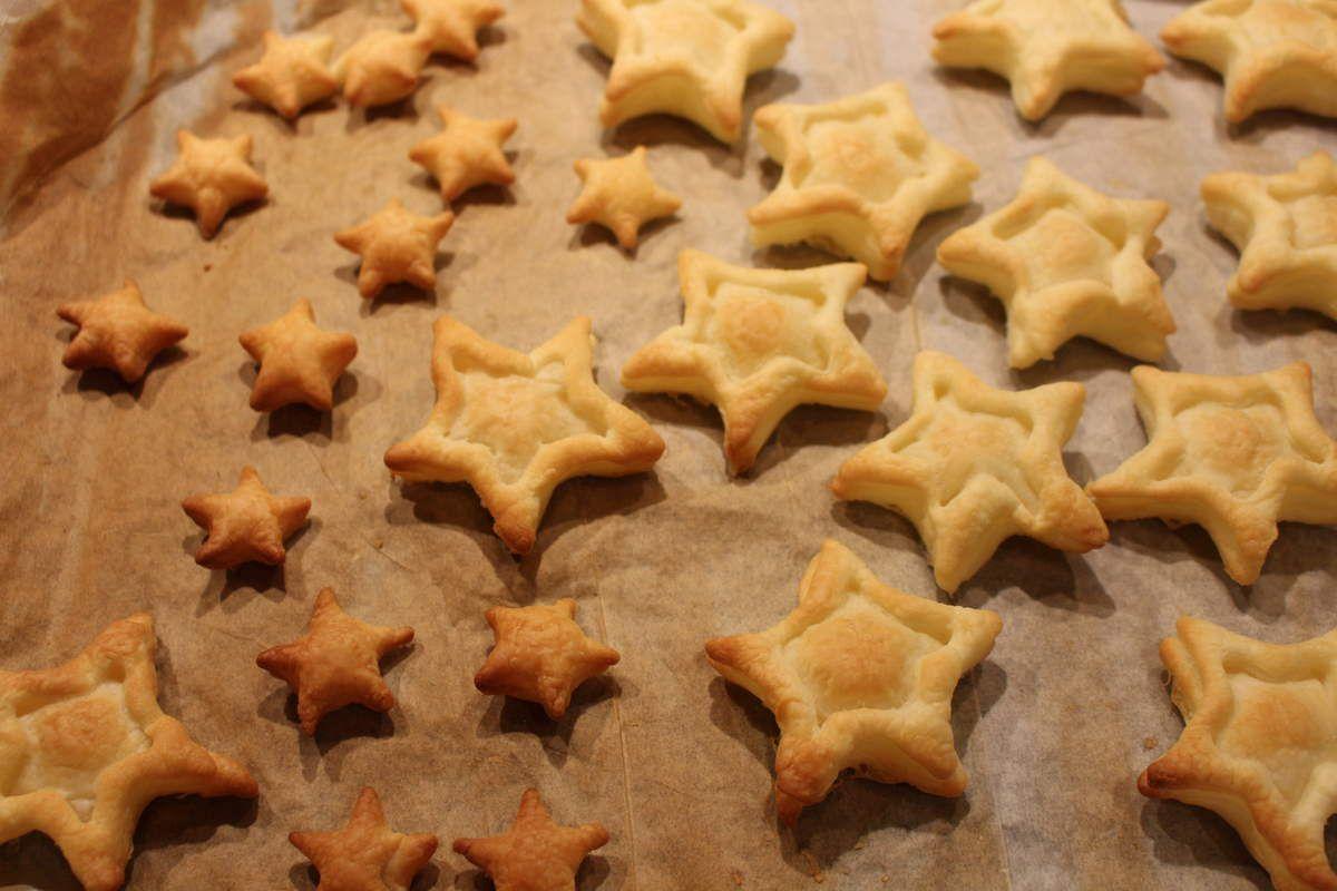 étoiles du nord, petits fours apéro
