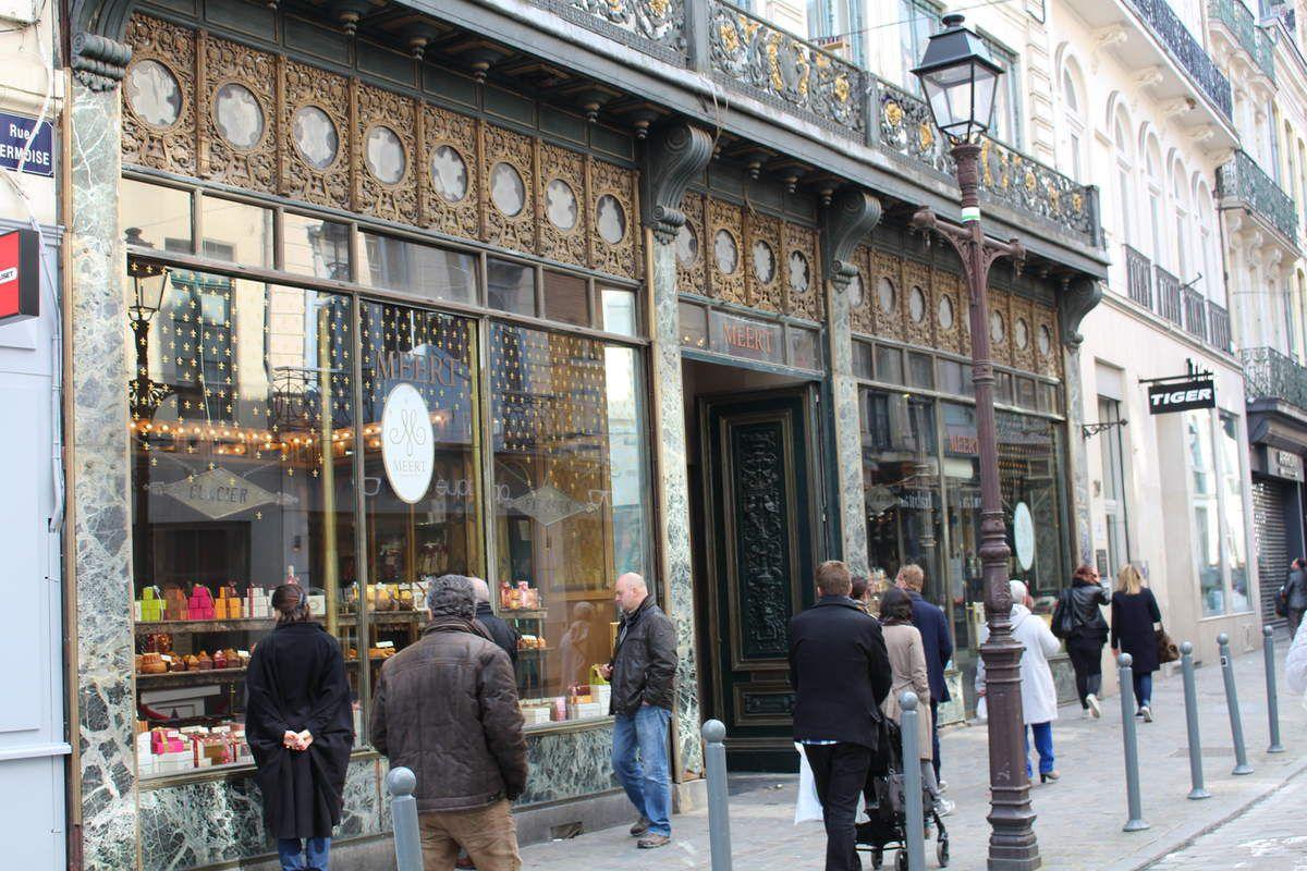 Chez Méert, rue Esquermoise Lille