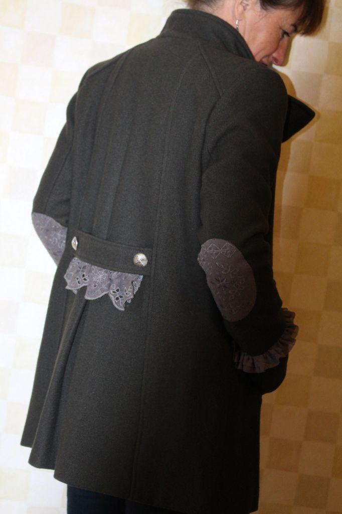 Manteau customisé