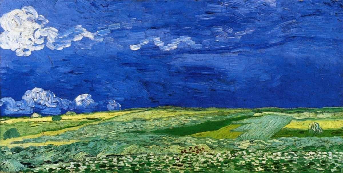 Vincent Van Gogh – Champ sous un ciel orageux, juillet 1890, Van Gogh Museum, Amsterdam