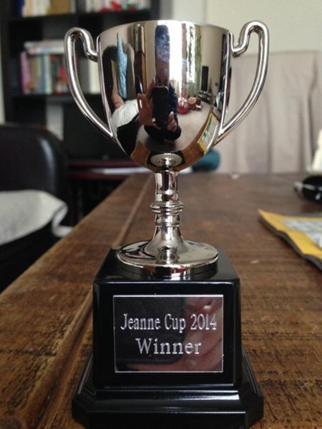 La Jeanne cup !!! Yeah !!!!