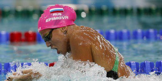 la nageuse russe Efimova suspendue 16 mois
