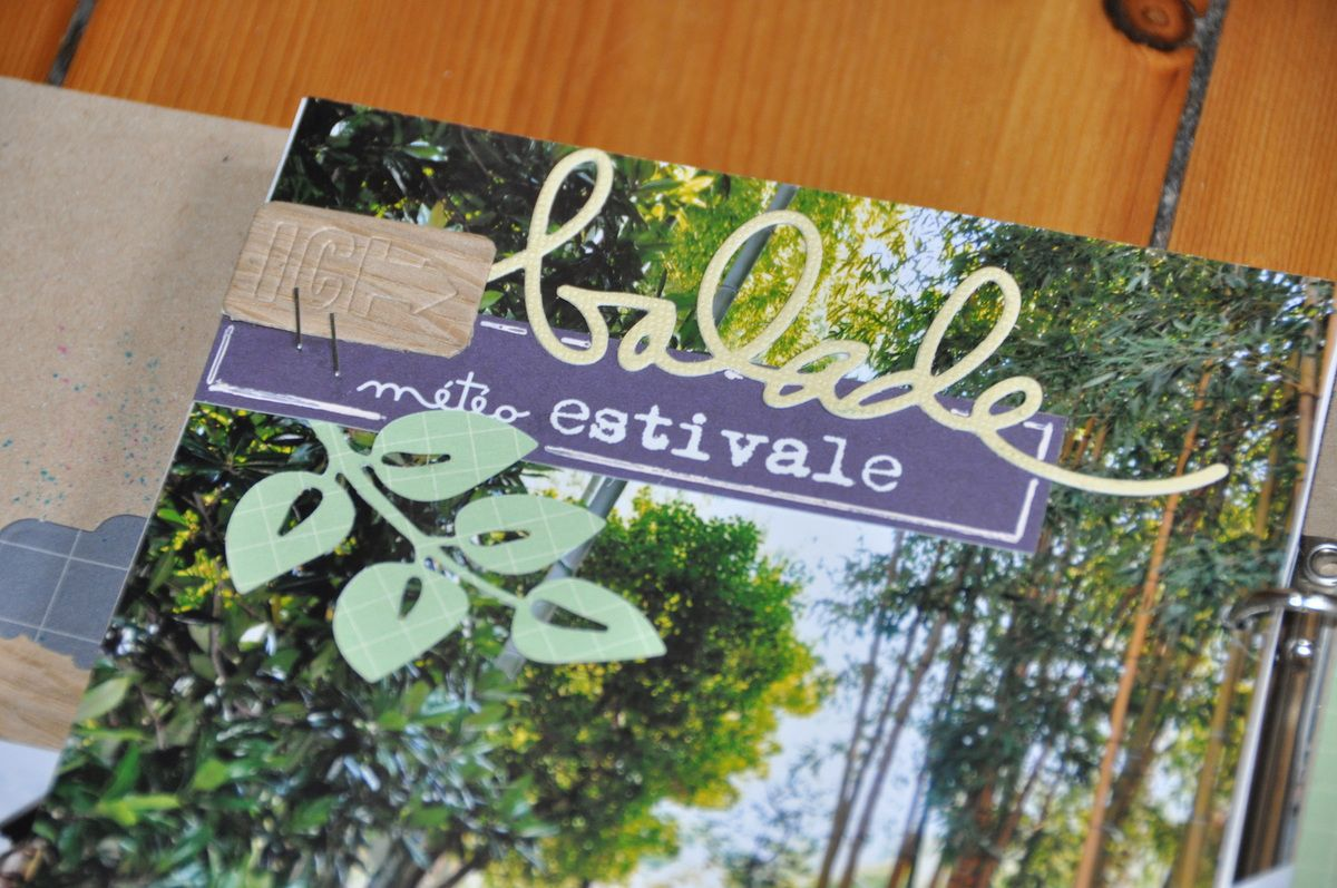 Atelier  à rendez vous scrap : Isola Bella