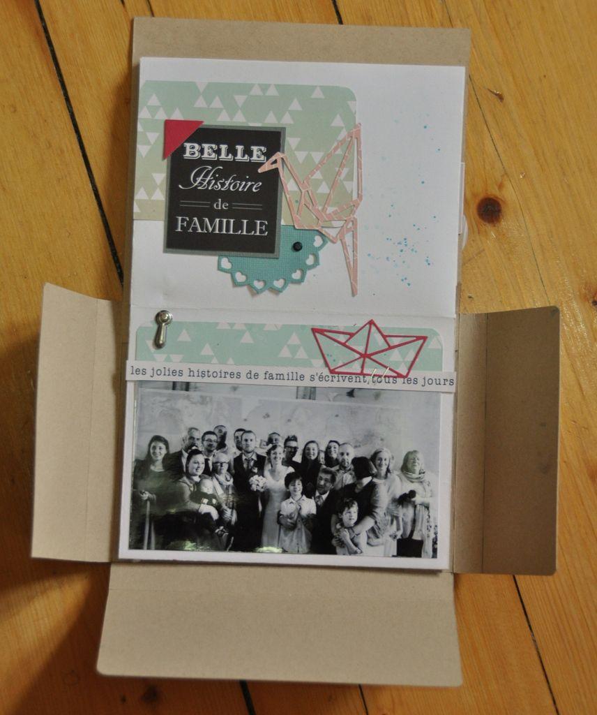 papiers colorado de swirlcards + napperons de couleurs + plein de trucs bidules pour faire joli !!!!!