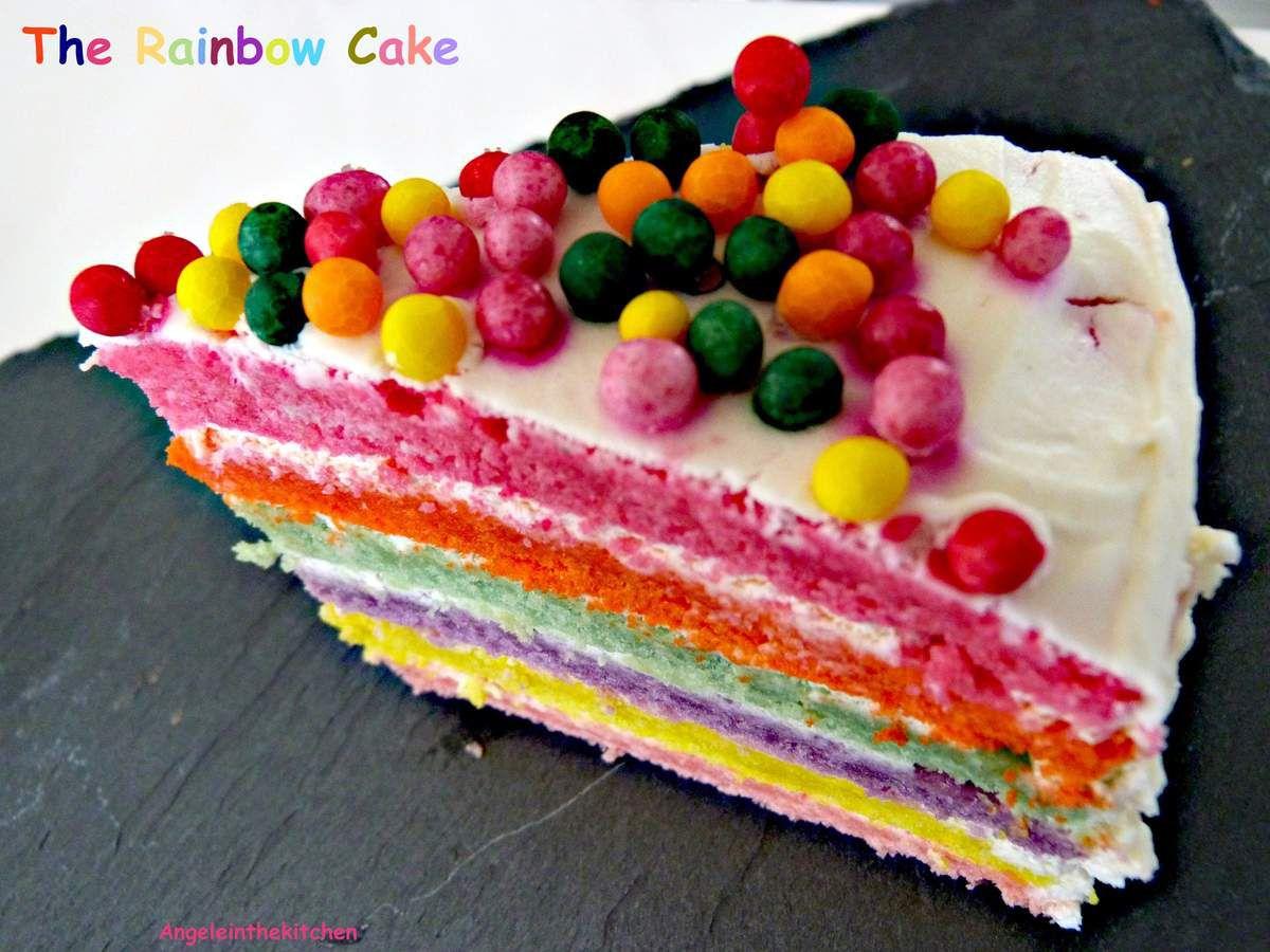 THE Rainbow Cake!!!!!!!!!!!!!!!!!!!!!!!!!!