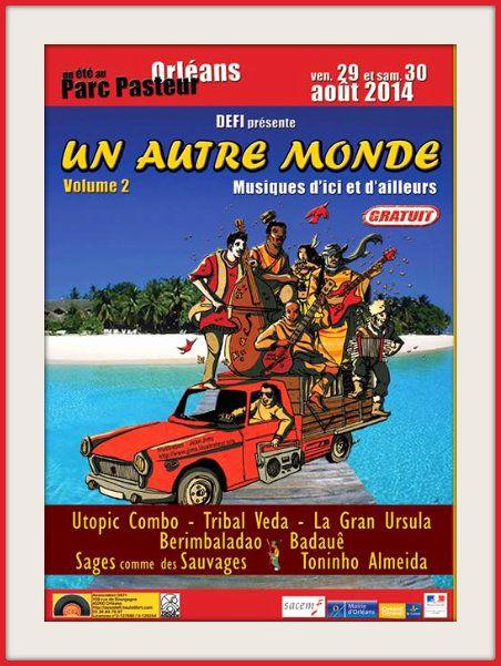 - Les 29 et 30 août MUSIQUES D'ICI ET D'AILLEURS gratuites au PARC PASTEUR programmé par Défi