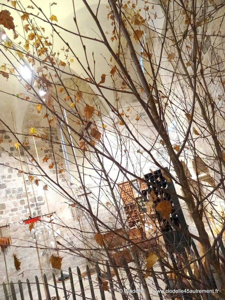 - IMAGES de l'exposition O'JARDIN D'HIVER à la COLLEGIALE ST PIERRE LE PUELLIER d'Orléans