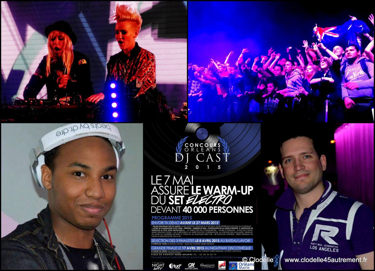 Nervo (2014)  WARM UP  Kid Lokizys  / Joachim Garraud (2013) WARM UP William Kaiton