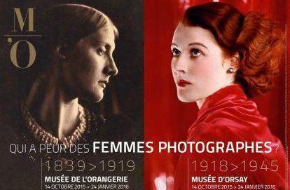 Exposition QUI A PEUR DES FEMMES PHOTOGRAPHES? Musée de l'Orangerie Musée d'Orsay jusqu'au 25 janvier 2016