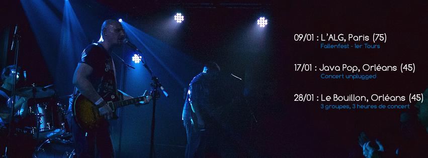 PANAMA en concert acoustique La JAVA POP Orléans 17 janvier 2016