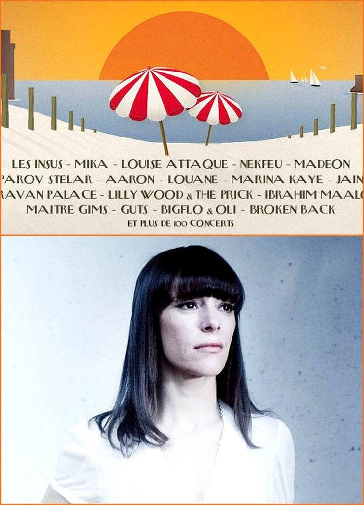 """EMILY LOIZEAU aux FRANCOFOLIES 2016 - BRIGITTE revisitera BALAVOINE et LAVILLIERS créera """"Pouvoirs"""""""