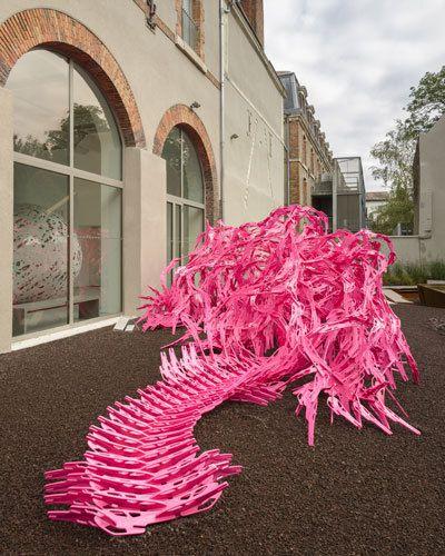 BLOOM, installation participative d' Alisa Andrasek et Jose Sanchez au cœur du GRAND UNISSON