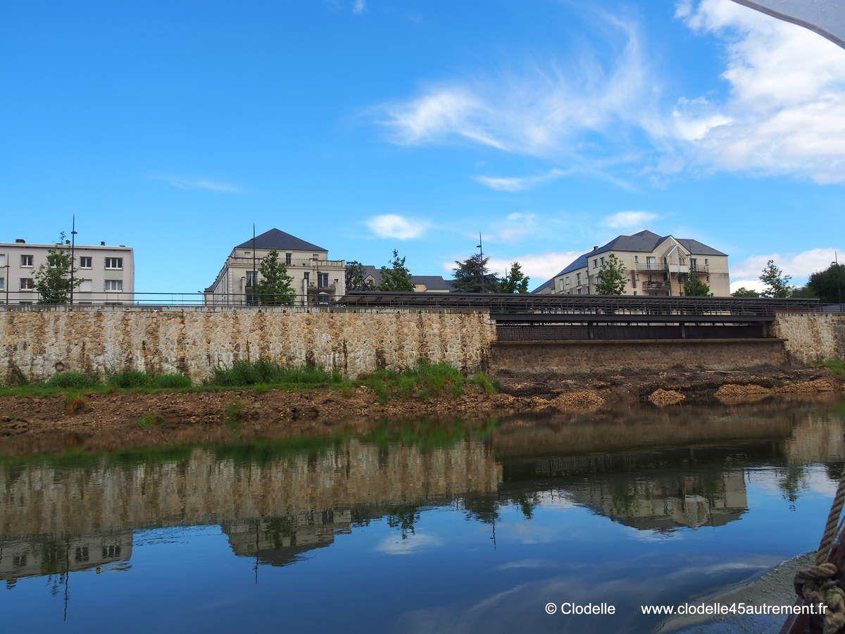 Inauguration du BatOLoire, navette fluviale à Orléans du 16 juillet au 4 septembre 2016