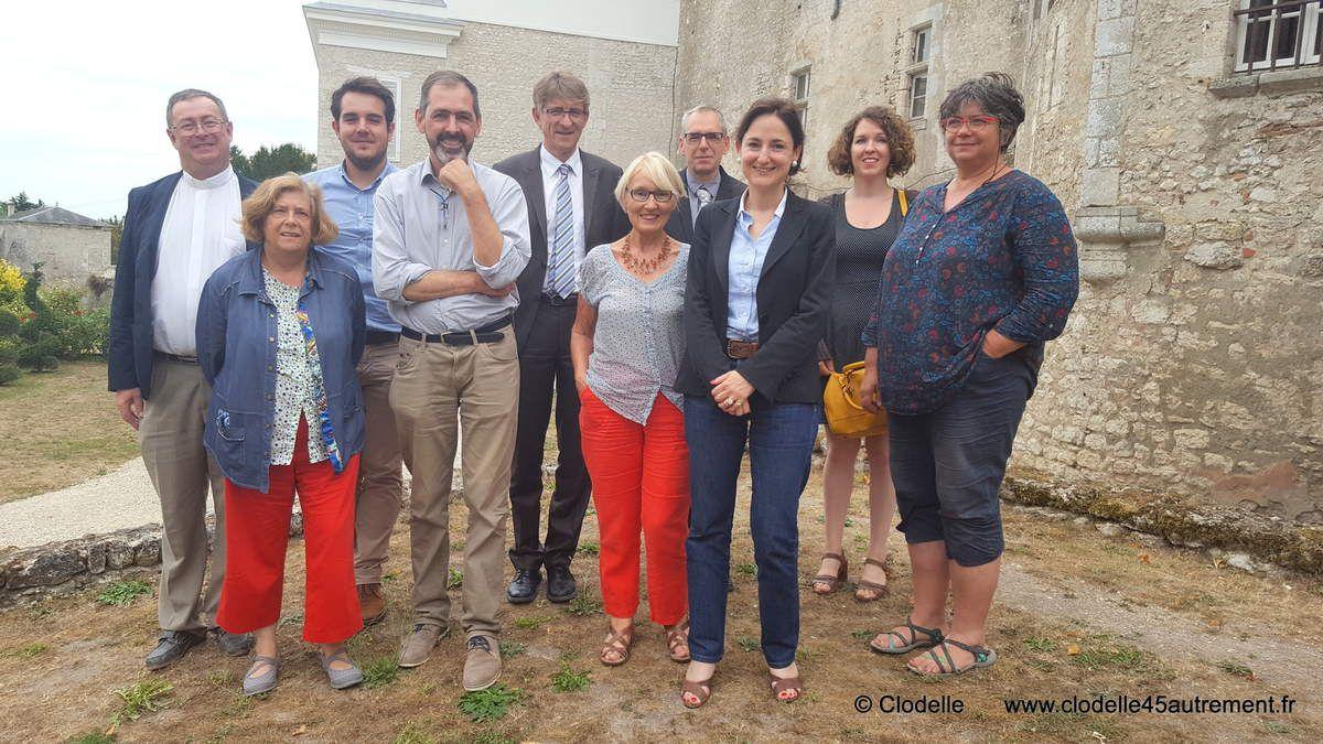 CHRISTELLE DE CREMIERS à la rencontre des élus et des professionnels du tourisme du Loiret