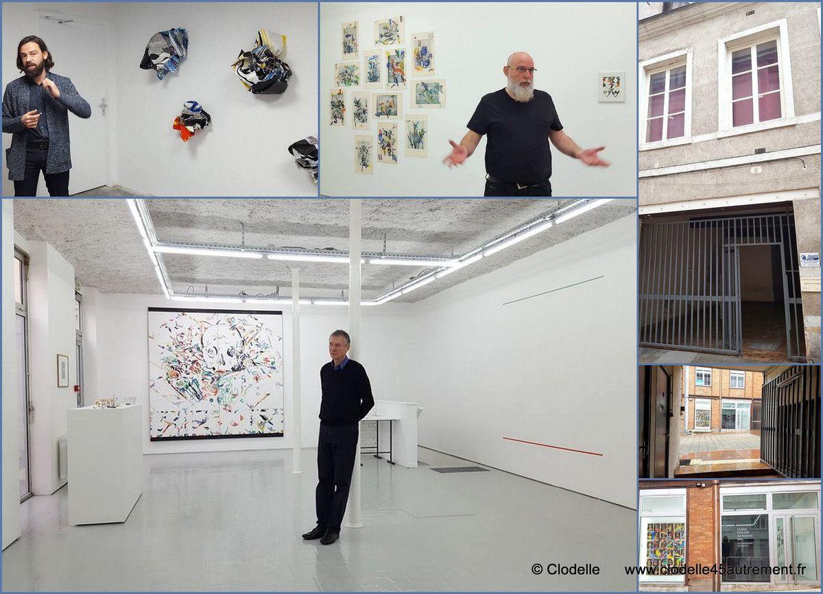 Le POCTB inaugure son nouvel espace à ORLEANS avec l'exposition de  Bernard JOUBERT