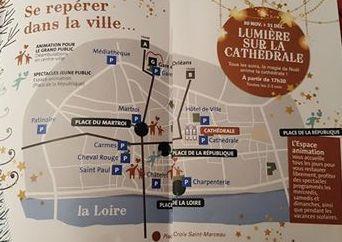 MARCHE DE NOEL A ORLEANS : découvrez les SAPINS MAGIQUES du 30 novembre au 25 décembre