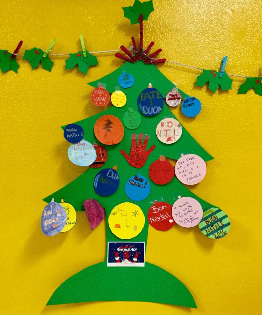 L'arbre de Noël de la classe sixième A