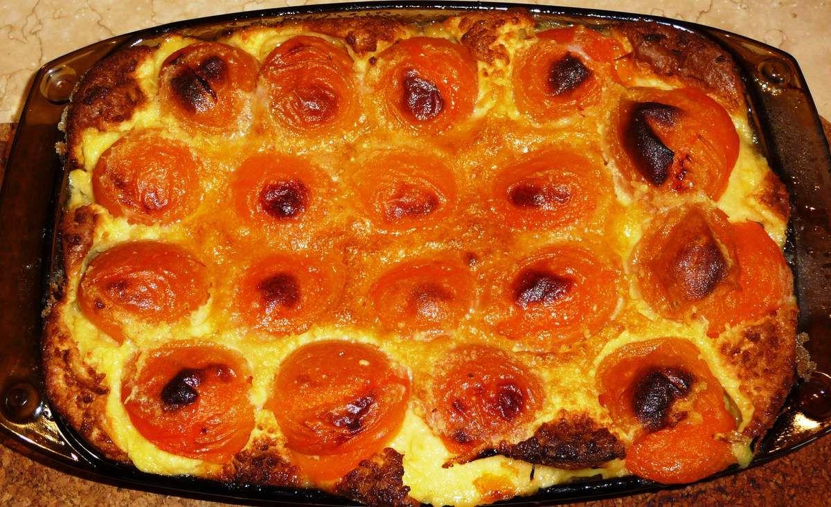 clafoutis aux abricots les recettes de virginie