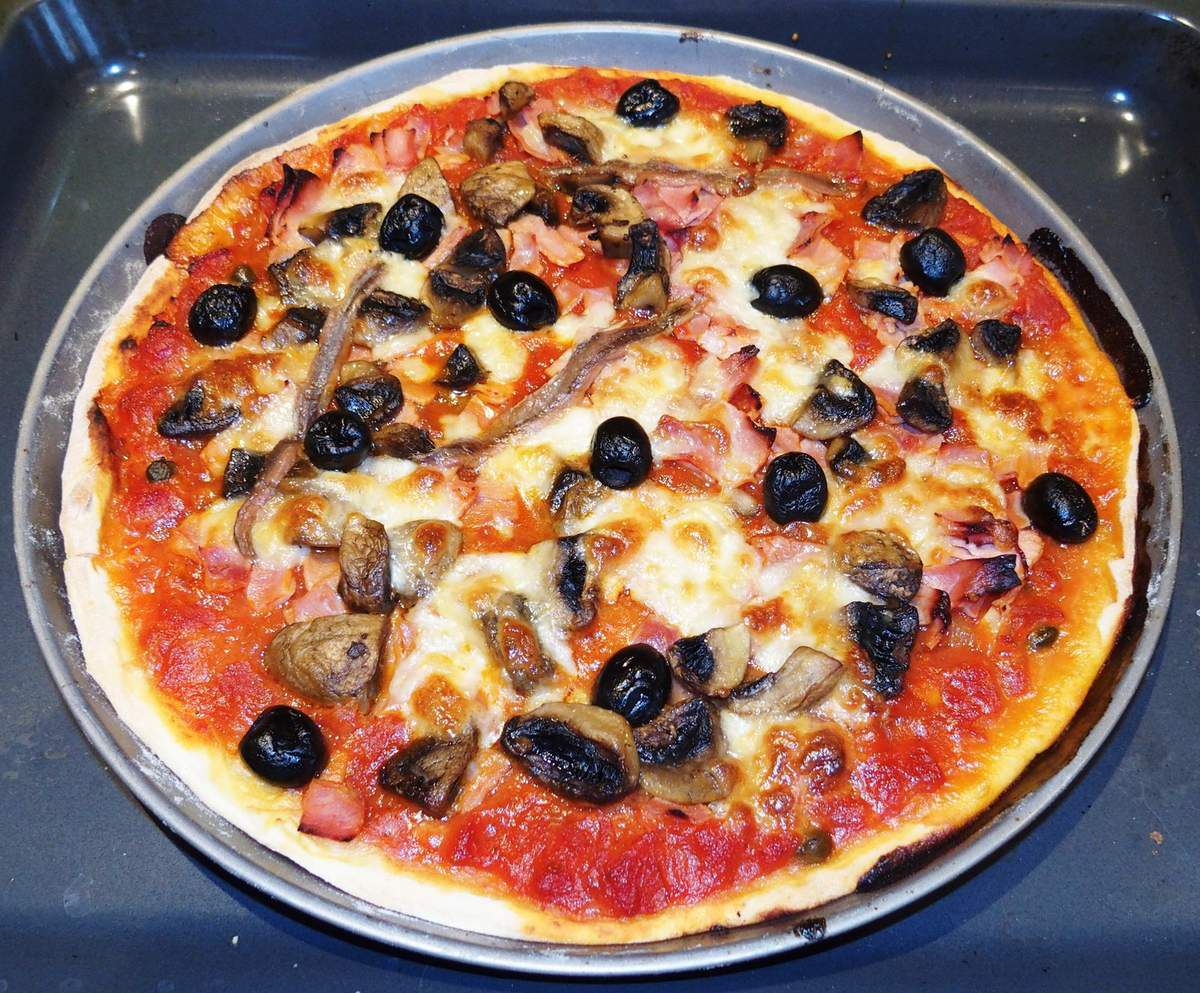 Temps de cuisson pizza maison au four - Cuisson daurade au four ...