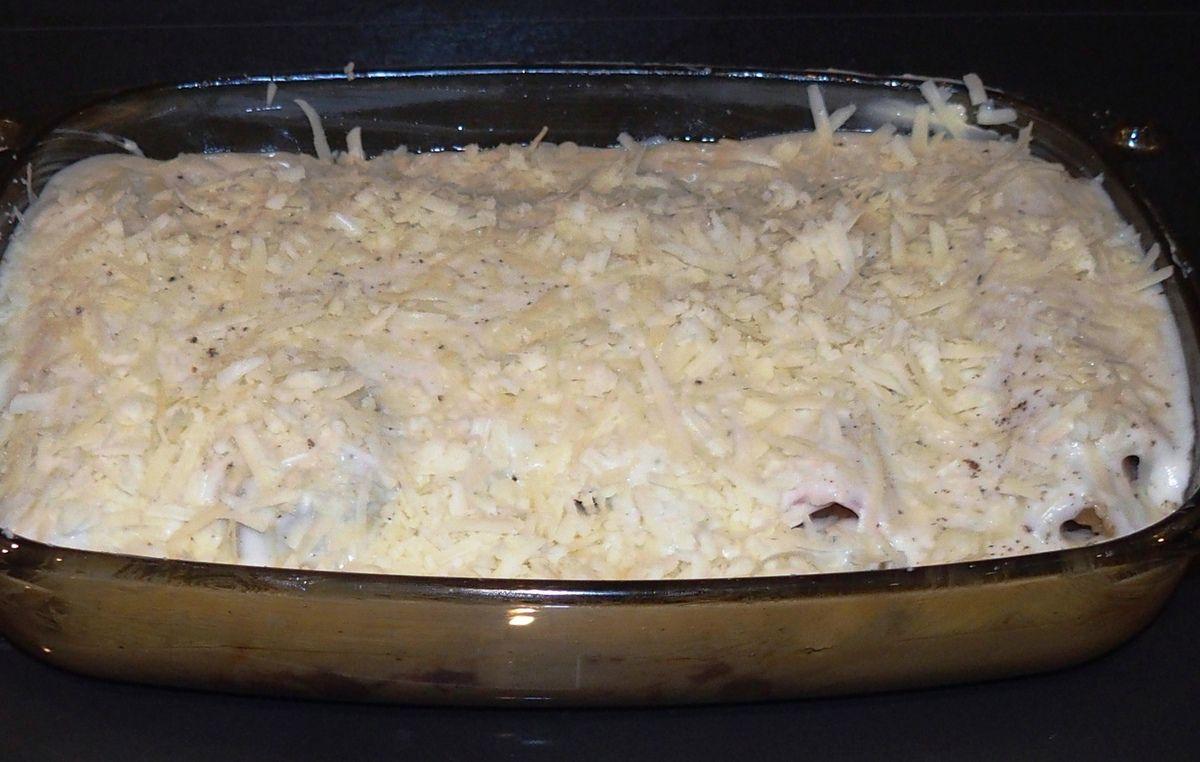 Endives au jambon ou chicons en gratin