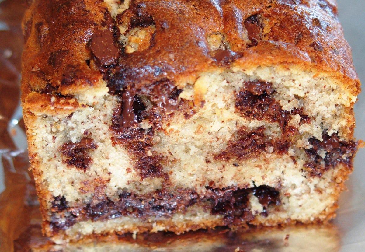 Cake Aux Banane Et Aux Noix Moelleux
