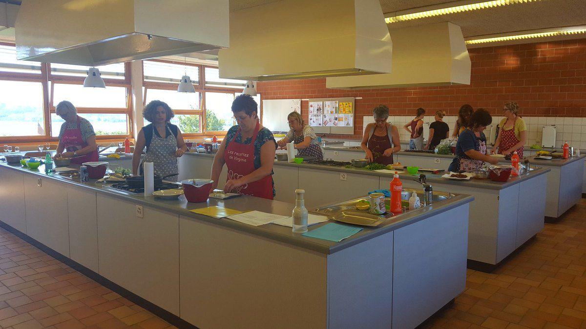 Photos des cours de cuisine les recettes de virginie for Cours de cuisine rodez