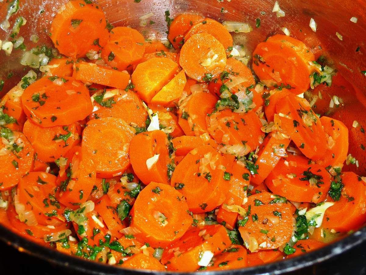 carottes persill es l 39 ail et oignon les recettes de. Black Bedroom Furniture Sets. Home Design Ideas