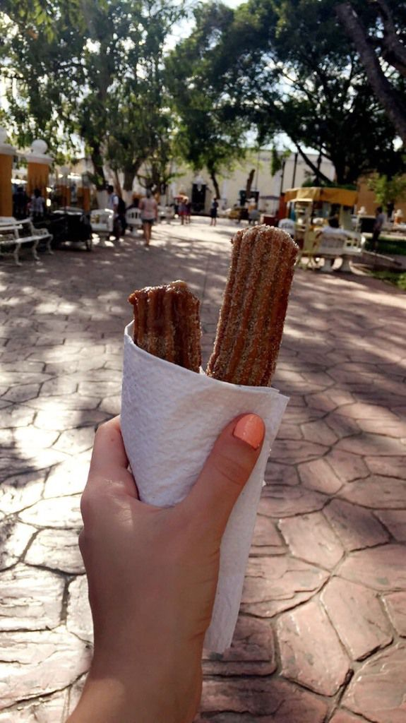 Best churros I've ever had!! Did you know that churros are mexican originally?