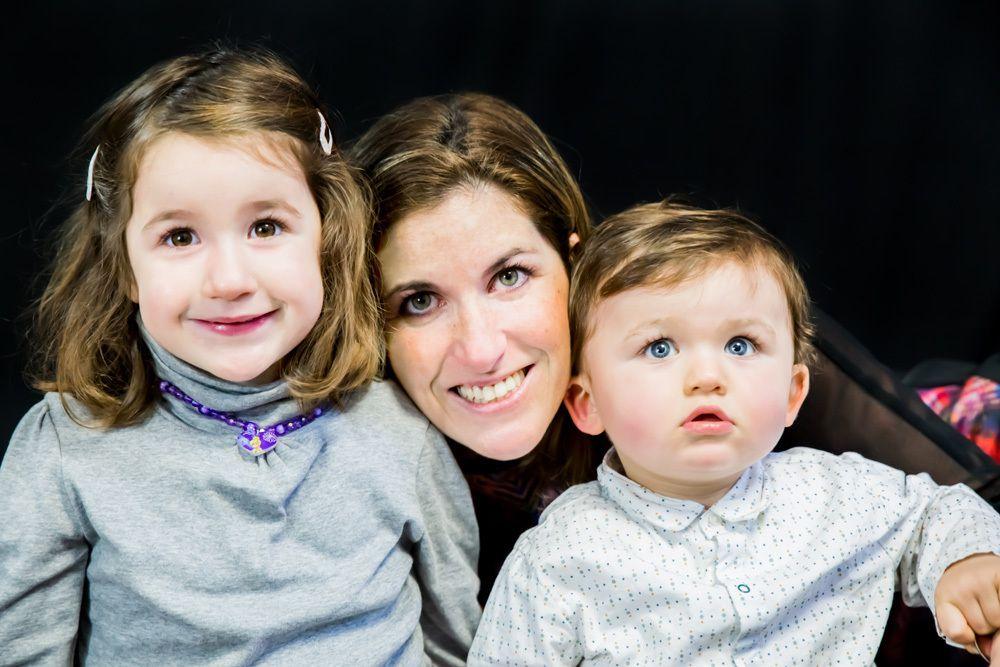 Mini-séance photo enfants / famille (studio) du 28/12/14, Mérignac