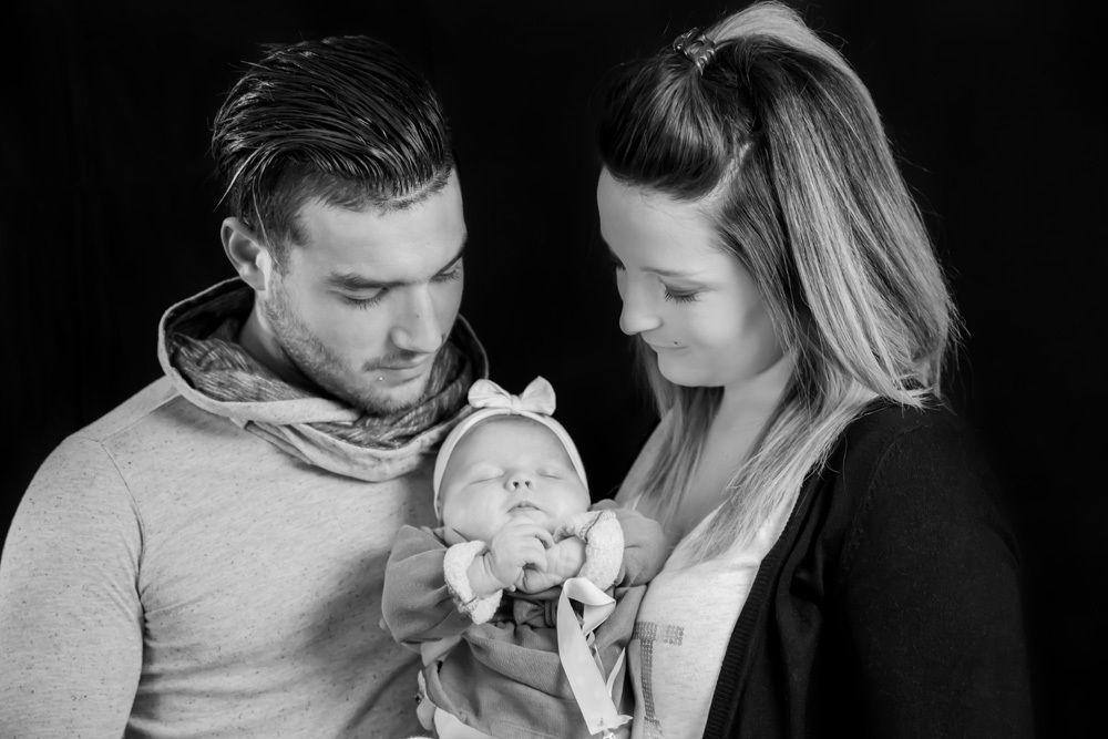Mini-séance photo bébé / famille (studio) du 10/01/15, Mérignac