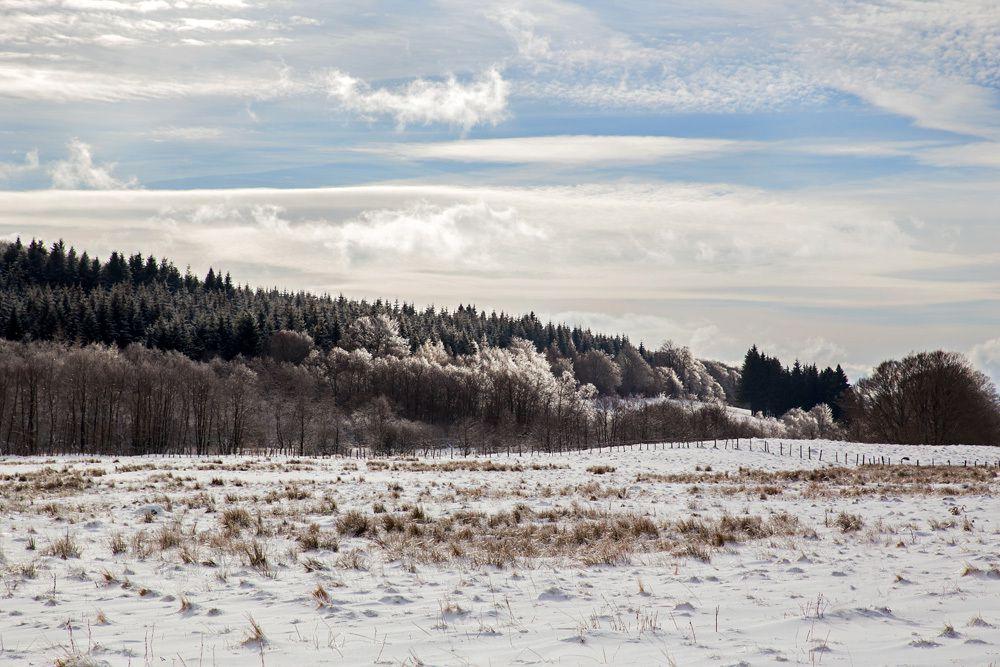 Un tour en Auvergne (hiver 2015)...