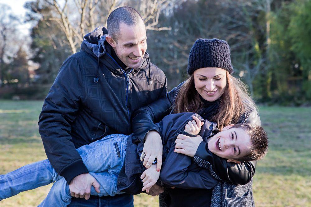 Séance photo bébé / famille du 21/01/17, photographe Mérignac